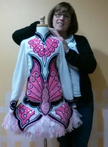 Custom Irish dance costume designer, Michelle Lewis