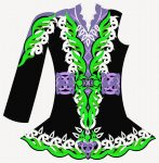Ready to order Irish dance costume designs