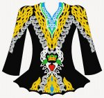 Ready to order Irish dance costume designs